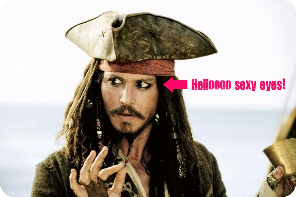 makeup fashion  5 Things Jack Sparrow Taught Me About Fashion & Makeup
