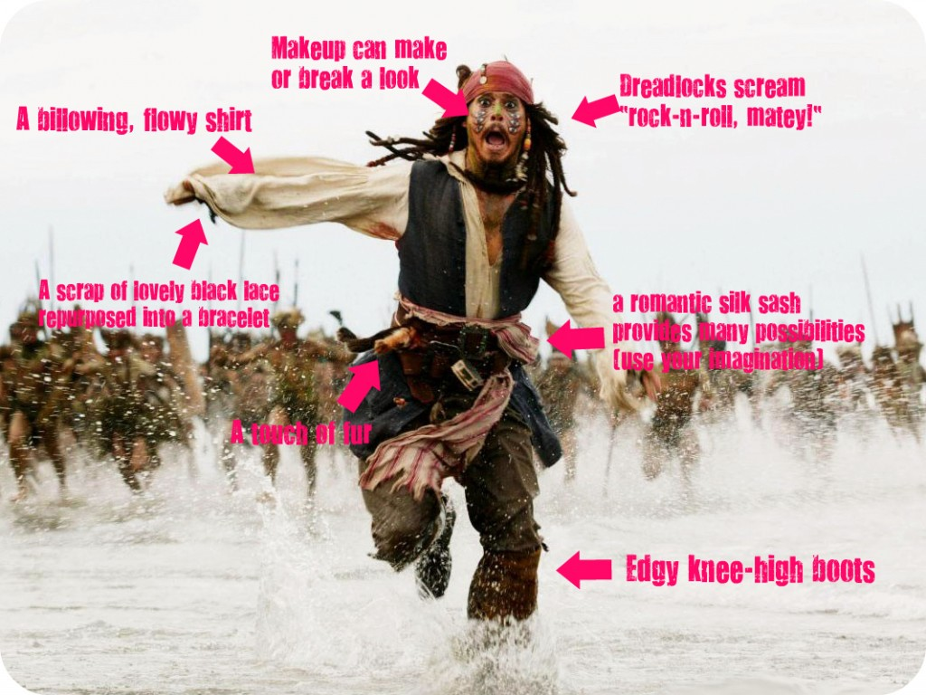 Makeup Fashion Things Jack Sparrow Taught About