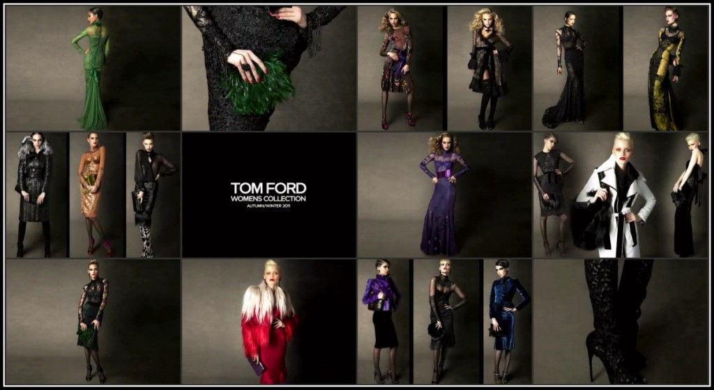 tom ford fashion  Tom Ford: Autumn/Winter 2011 Womenswear Collection Lookbook LIVE!