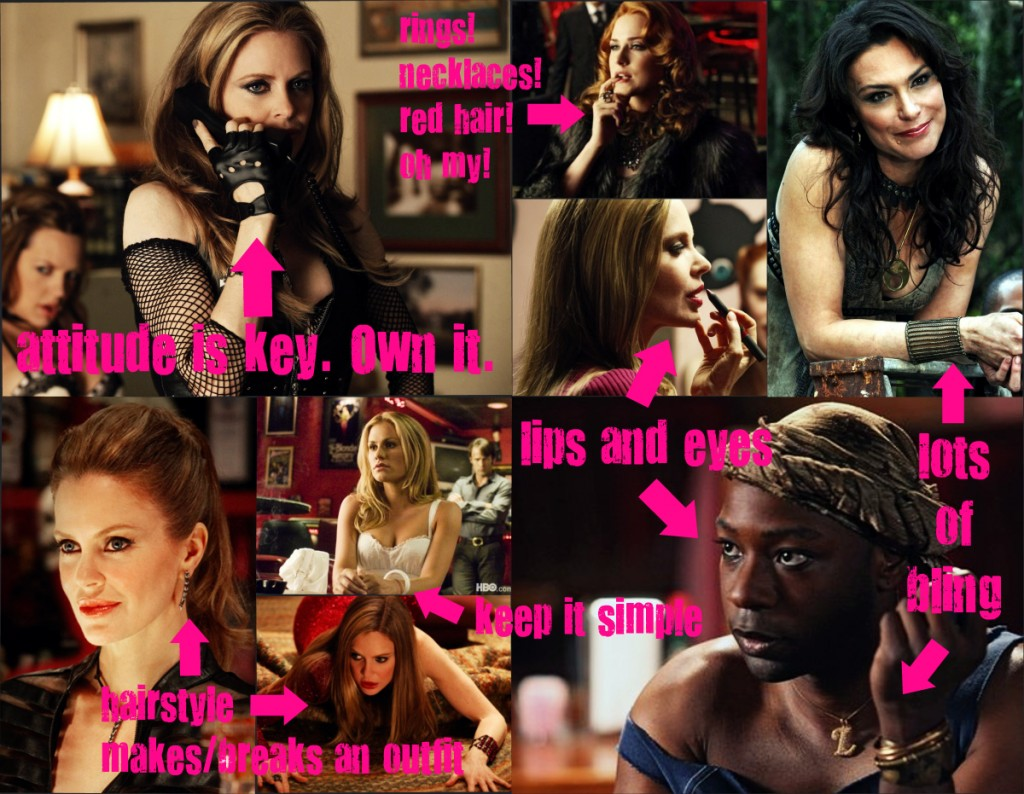 makeup fashion beauty  5 Things HBOs True Blood Taught Me About Fashion & Beauty