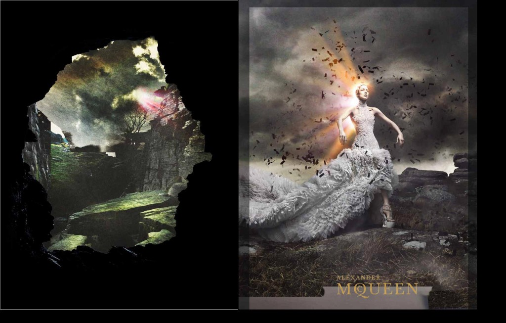 uncategorized photoshoot photography models ad campaign 2  Raquel Zimmermann for Alexander McQueen, Fall/Winter 2011 by David Sims