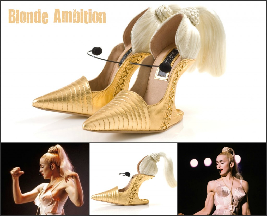 Koby Levi Blonde Ambition Madonna-Inspired
