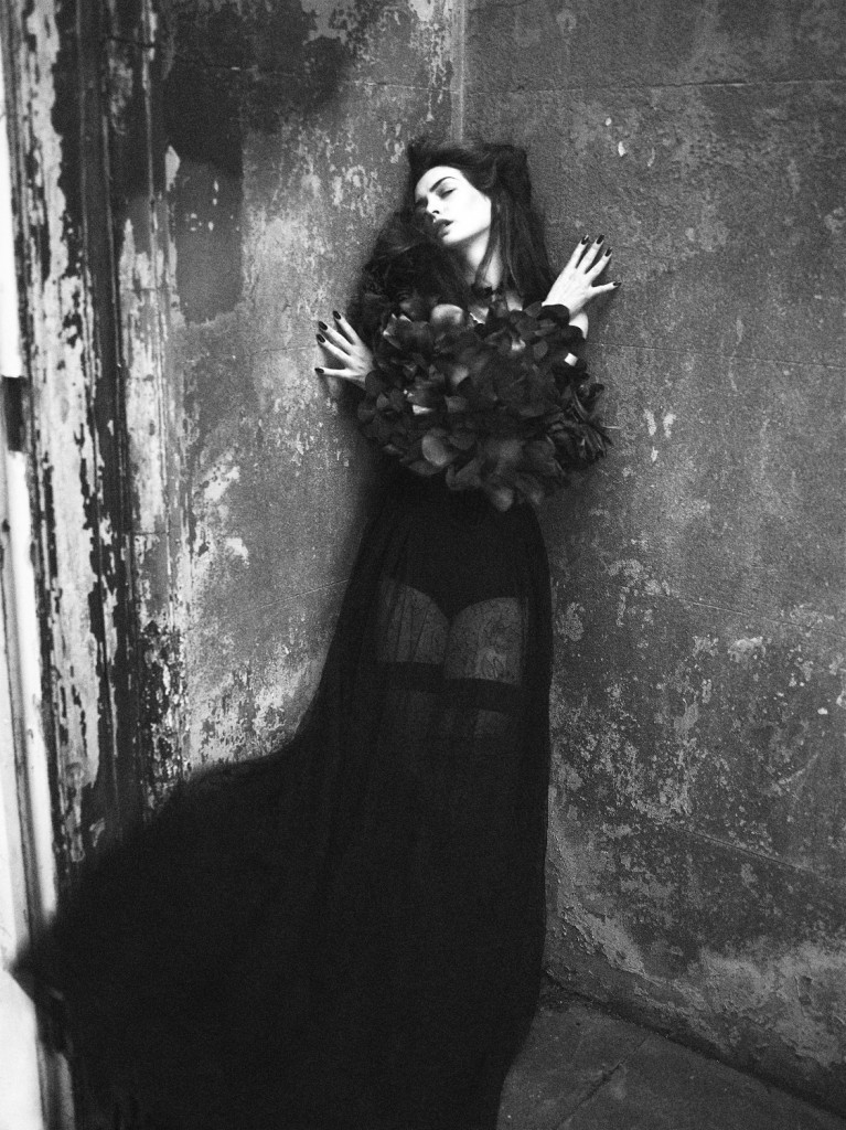tom ford photoshoot photography high fashion fashion  Photoshoot: Anne Hathaway by Mert and Marcus for Interview Magazine, September 2011