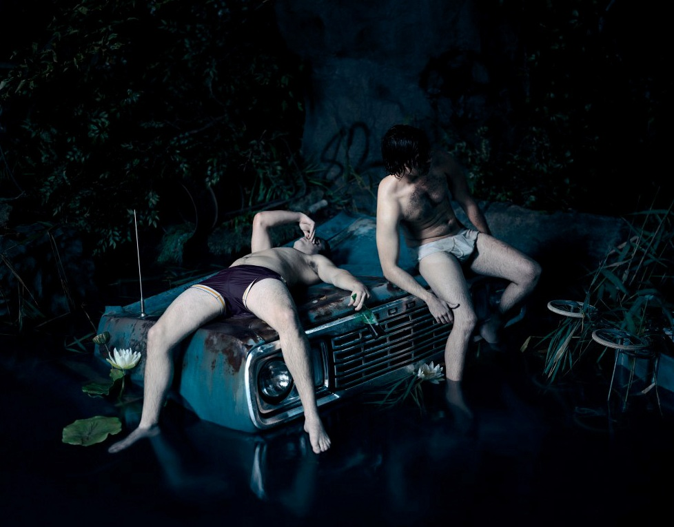 photoshoot photography models controversy art and fashion  What Lies Beneath by Mert & Marcus: Inspiration or Plagiarism?