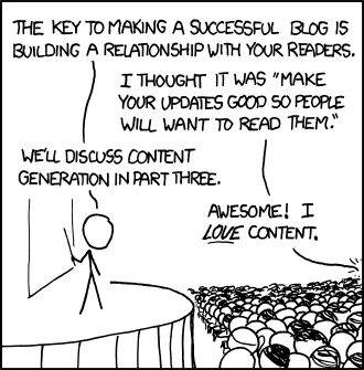 wordpress blog improvement  10 Popular Blogging Myths Debunked