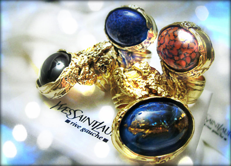 c317b9b2d0e12 8 Signs You re Addicted to Yves Saint Laurent Arty Ovale Rings