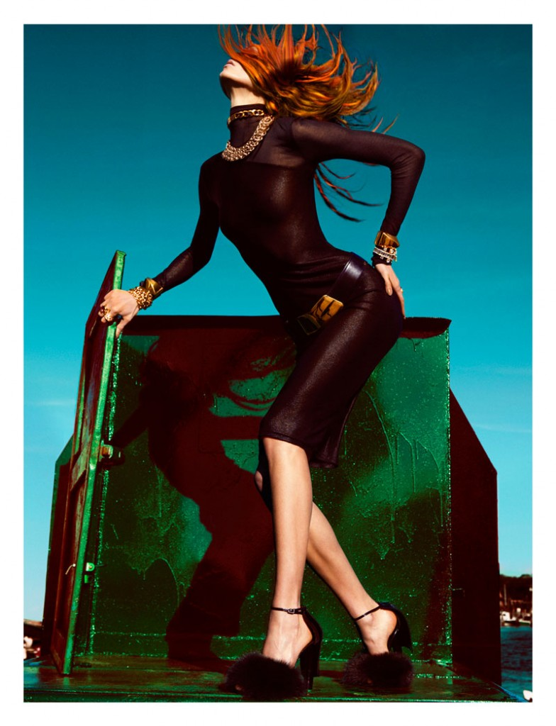 tom ford photoshoot photography high end fashion  Photoshoot: Karlie Kloss by Greg Kadel for Numéro #129