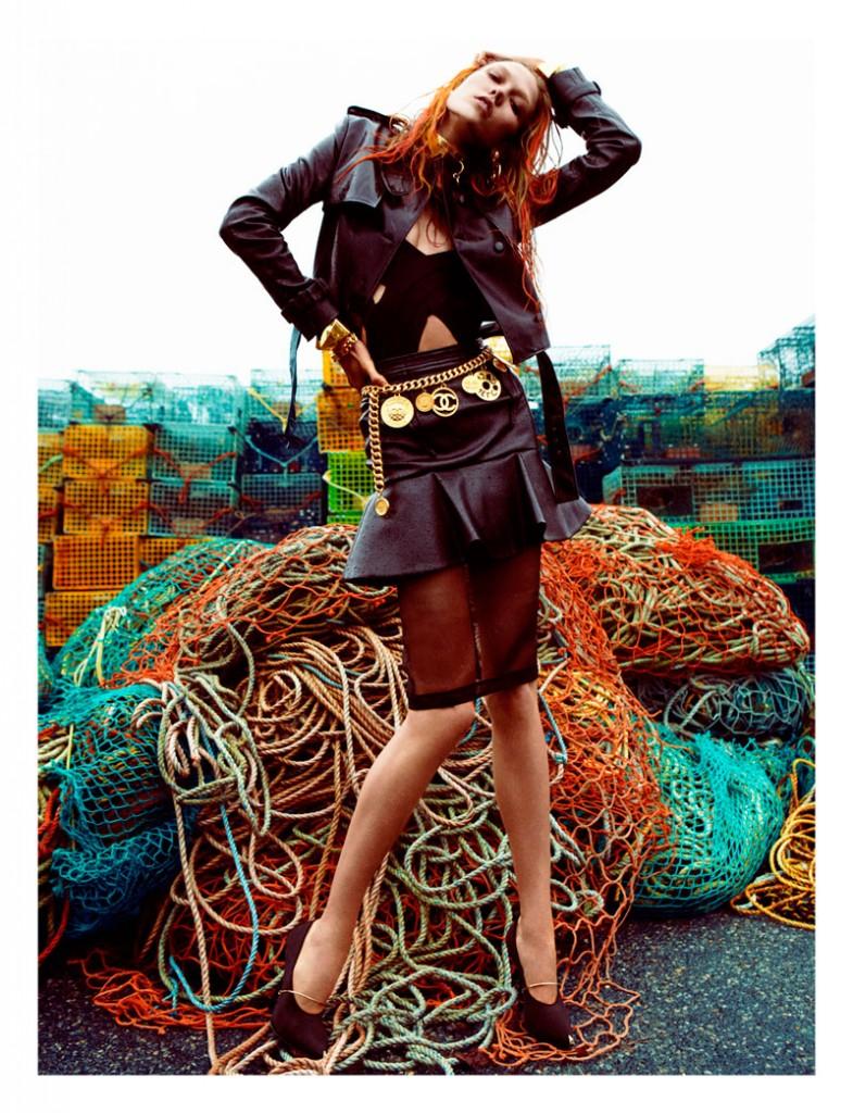 tom ford photoshoot photography high end fashion  Photoshoot: Karlie Kloss by Greg Kadel for Numéro #129