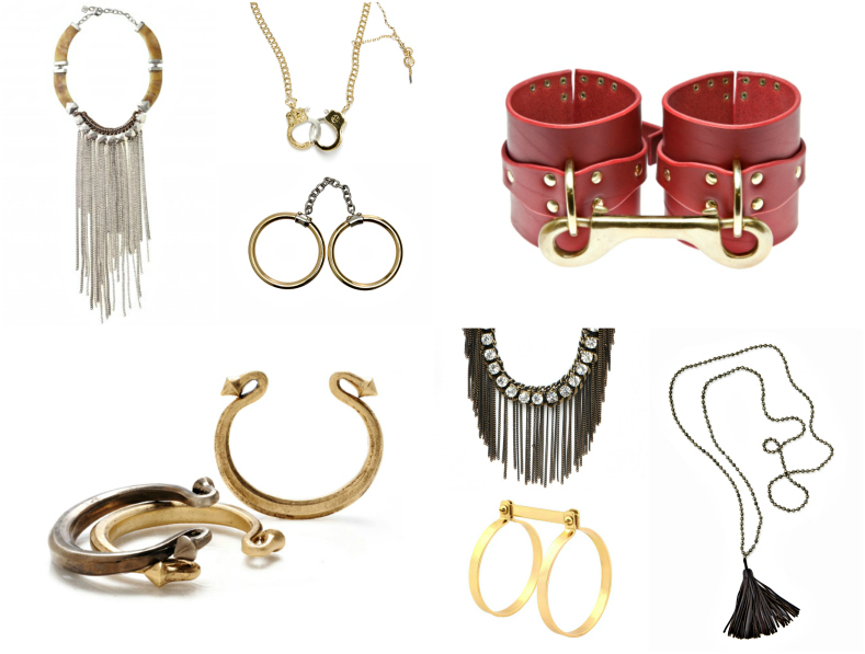 Jewelry for Your Inner Goddess: Sexy 50 Shades of Grey Inspired Picks
