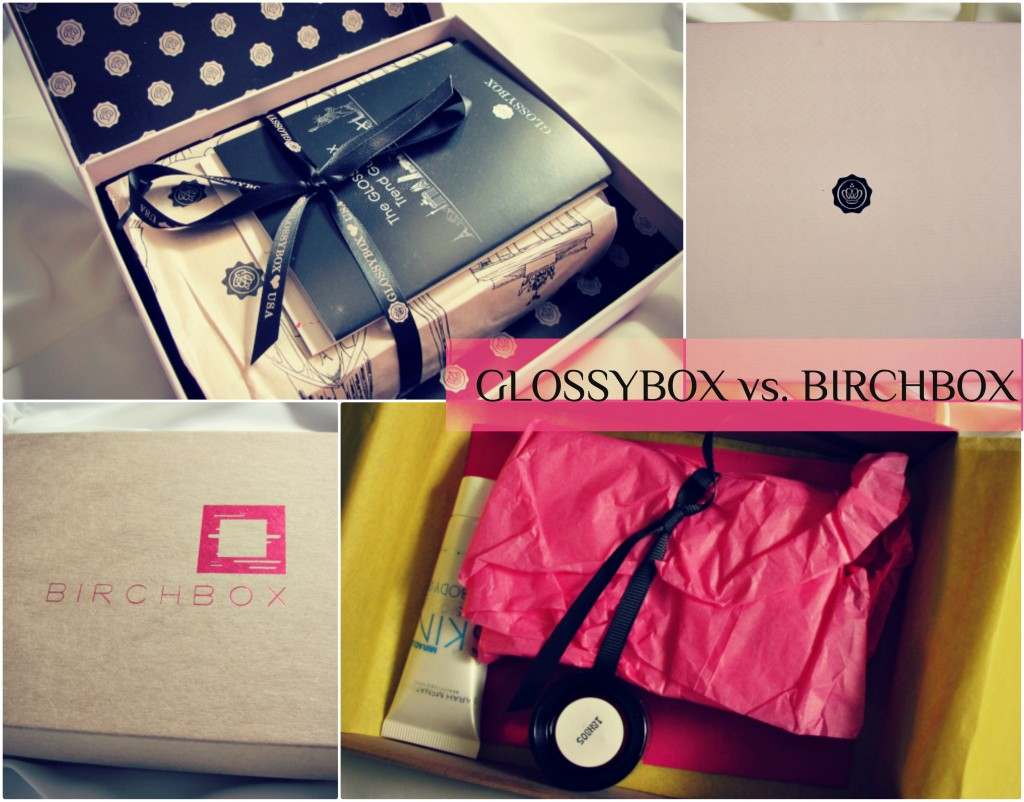 shopping review beauty  GLOSSYBOX and BIRCHBOX: A Beauty Box Comparison 