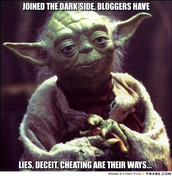 blog  The Dark Side of Blogging: It Isnt All Glitter & Gold