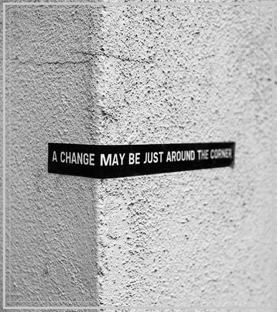 personal  A change is a coming ...